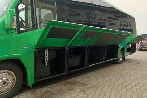 CUBY BUS Tourist Line XXL 37 seats side luggages