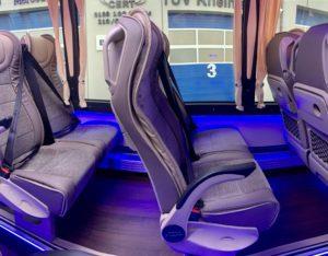 CUBY BUS Tourist Line XXL 37 seats inside interior design seats