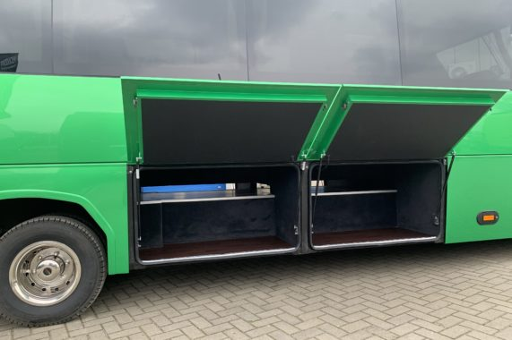 CUBY BUS Tourist Line XXL 37 seats rear luggages