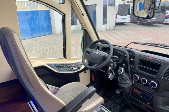 CUBY BUS Tourist Line XXL 37 seats inside interior design cockpit