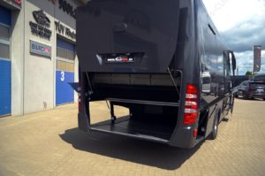 Iveco CUBY Tourist Line No. 293 luggage rear