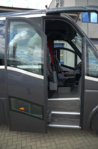 Iveco CUBY Tourist Line No. 293 side door