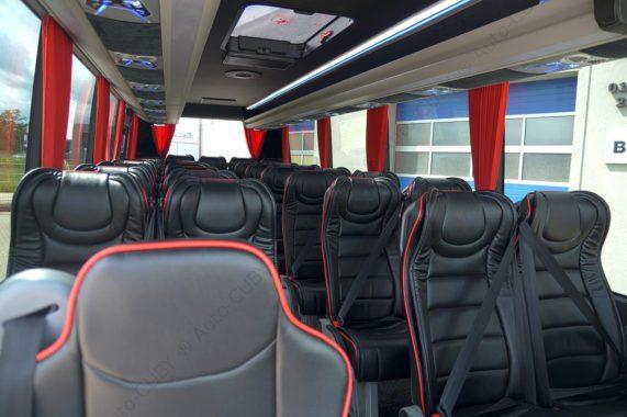 Iveco CUBY Tourist Line No. 293 inside design seats