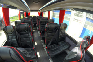 Iveco CUBY Tourist Line No. 293 inside design seats