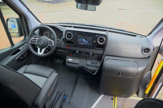 Sprinter CUBY Tourist Line Classic No. 417 cockpit interior design