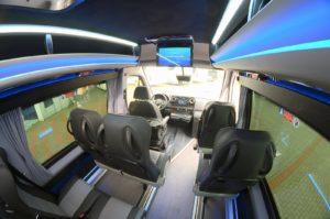 Sprinter CUBY Tourist Line Classic No. 417 seats interior design