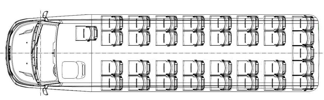Iveco CUBY Tourist Line Open Sky No. 342