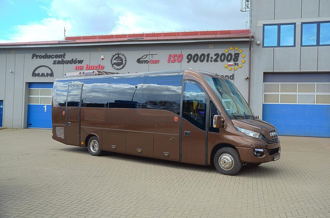 Iveco CUBY Tourist Line Open Sky Exclusive No. 348