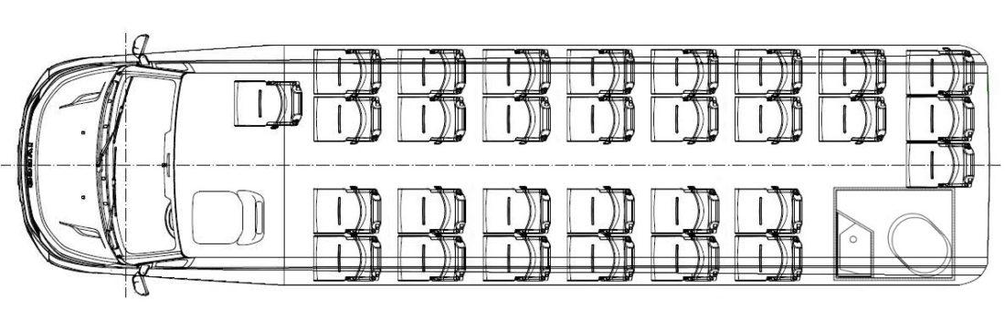 Iveco CUBY Tourist Line WC No. 380