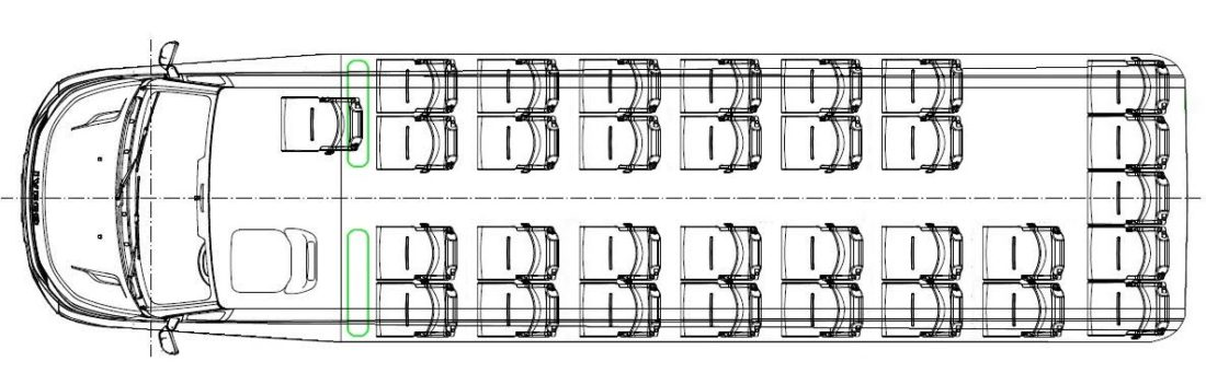 Iveco CUBY Tourist Line No. 415