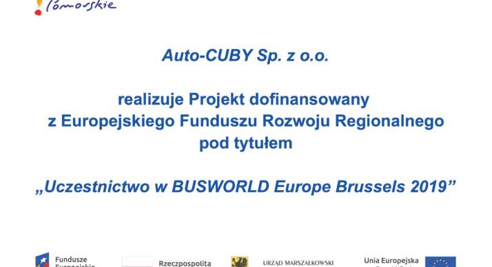 Targi BUSWORLD Bruksela 2019