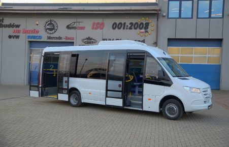 Cuby Sprinter 519cdi City Line | new model 907 | 14+2+1+11 | No. 400