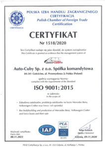 autocuby ISO 2020-2023